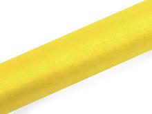 Organza žlutá 16 cm x 9 m