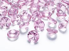 Diamanty pink 1,2cm 100ks