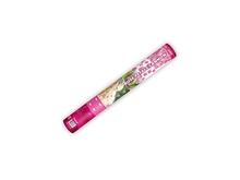Vystřelovací konfety lístky růží pink 40cm