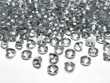 Diamanty šedé 1,2cm 100ks