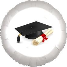 Promoce balónek fóliový kruh 42cm