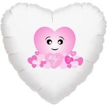 Balónek srdíčko Miluji Tě, láska